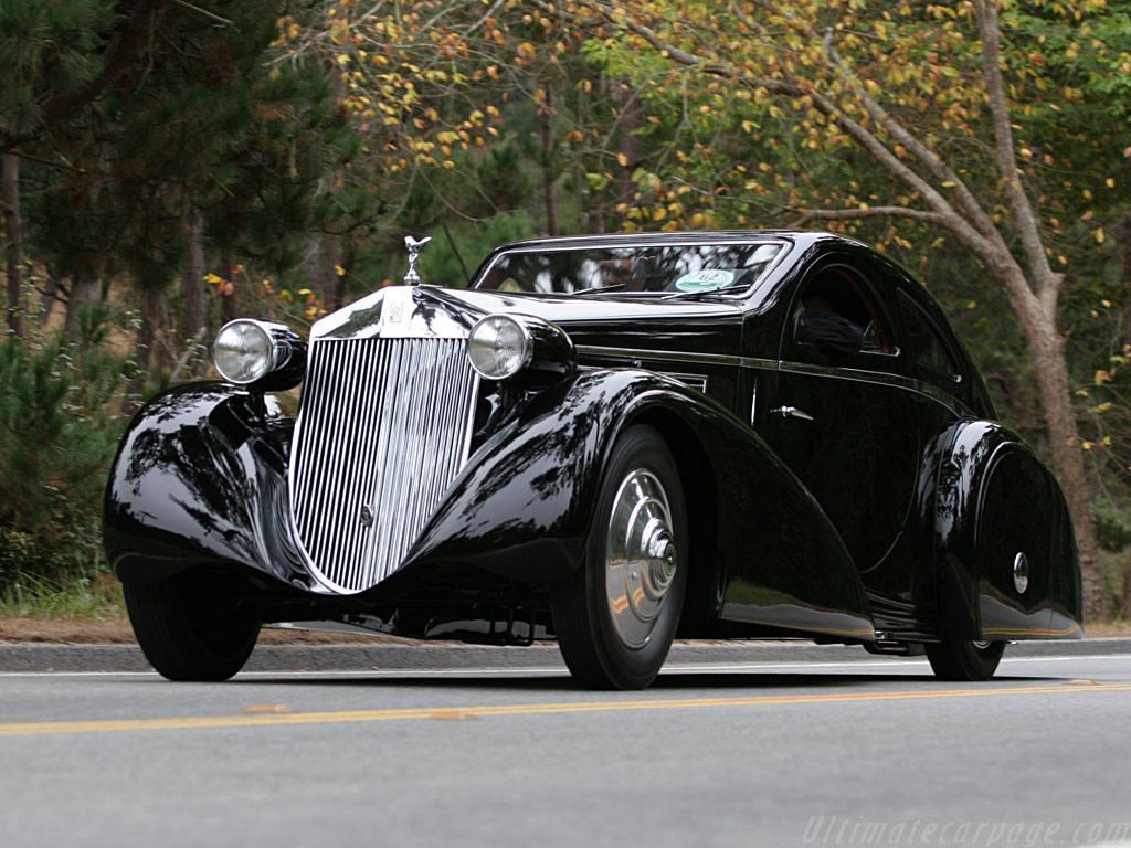 Rolls-Royce Phantom I Jonckheere Coupe High Resolution Image (3 of 12)