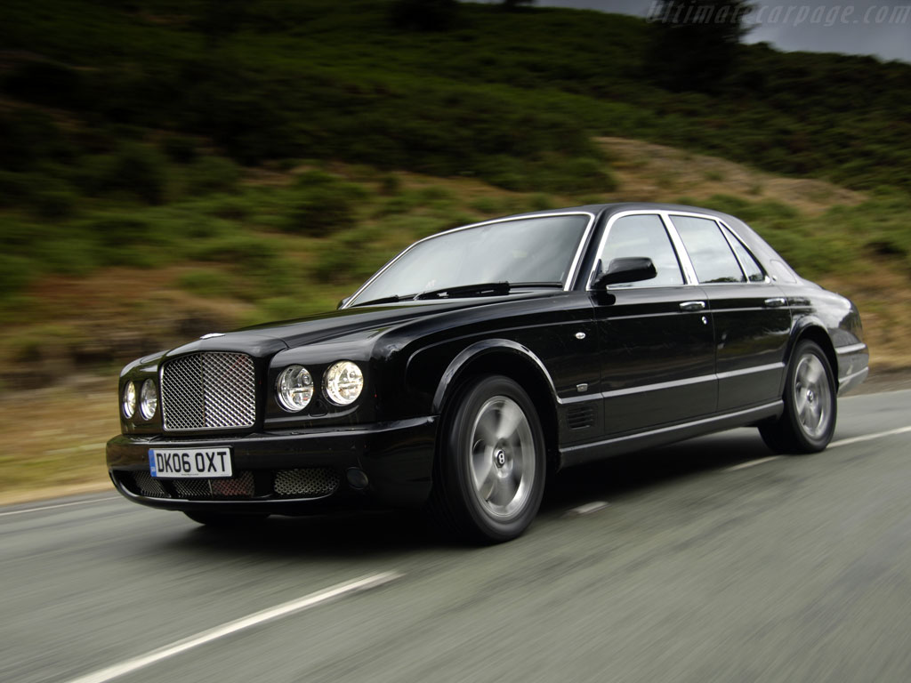 2008 Bentley Arnage Image.