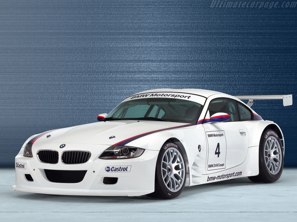 Bmw Z4 M Coupe Gt High Resolution Image 7 Of 12