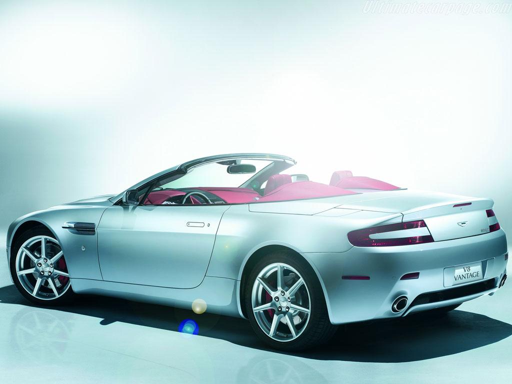 Aston martin v8 vantage roadster high resolution image 5 of 18