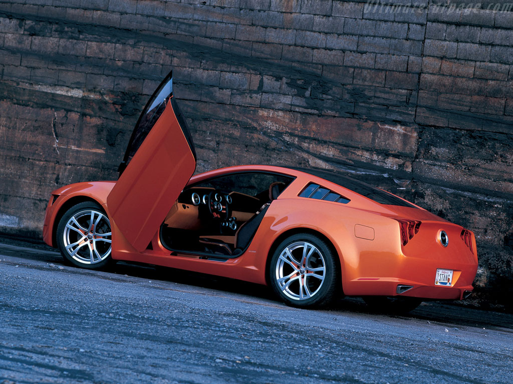 Mustang Concept >> Ford Mustang Giugiaro Concept High Resolution Image (6 of 12)