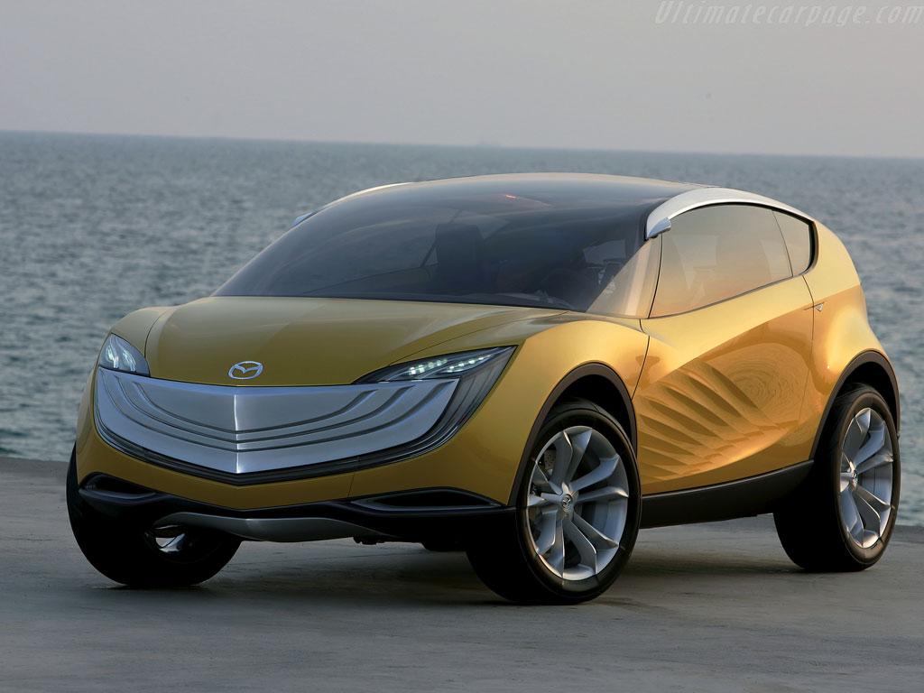 Mazda Hakaze Concept High Resolution Image 1 Of 12