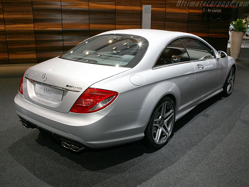 Mercedes benz cl 65 amg high resolution image 2 of 6 for Mercedes benz cl65 amg coupe