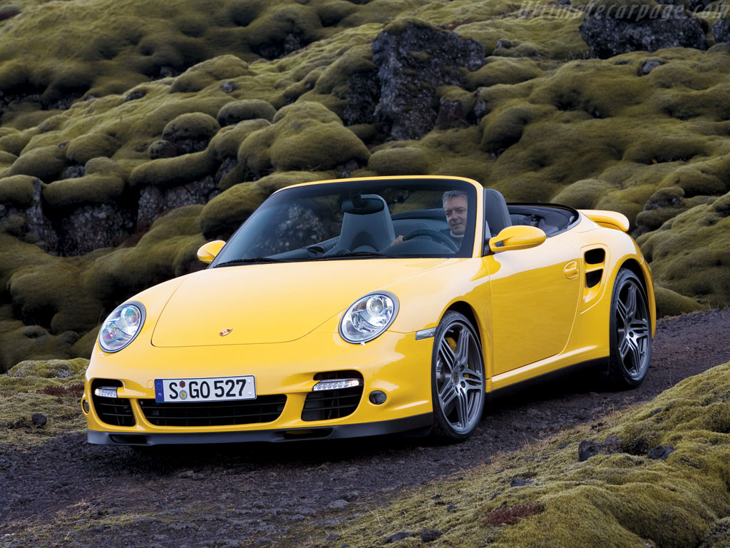 Porsche 997 Turbo Cabriolet High Resolution Image 2 Of 4
