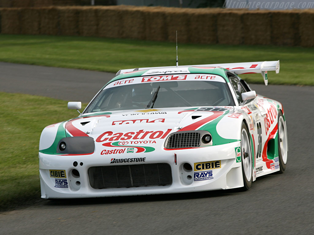 Racing In Car >> Toyota Tom's Supra GT500 High Resolution Image (1 of 6)