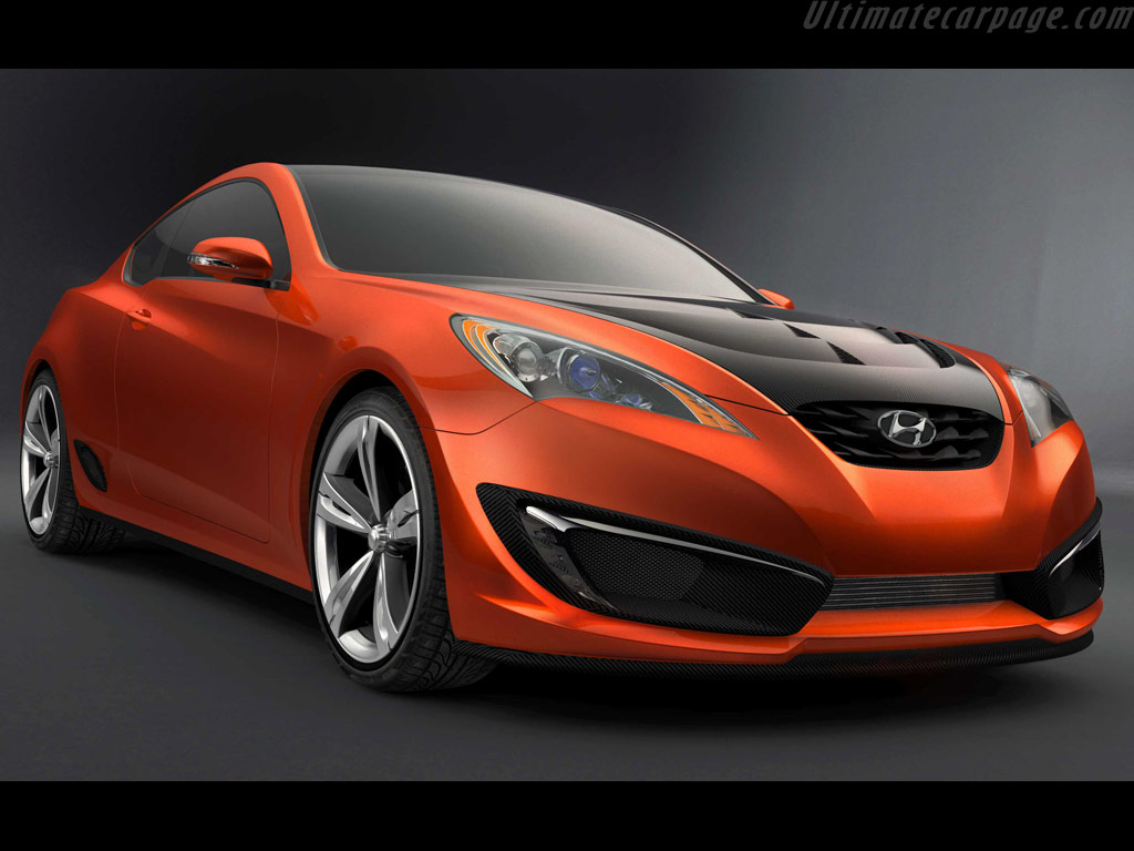 Hyundai Genesis Coupe Concept High Resolution Image 1 Of 4
