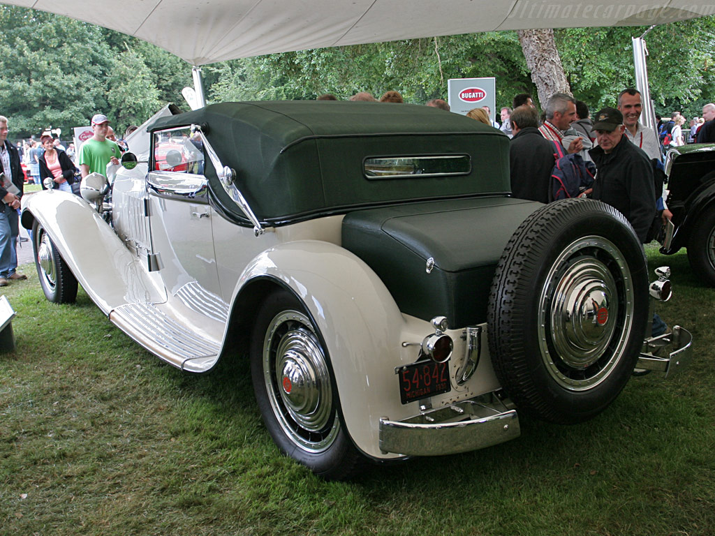 Bugatti Type 41 Royale Weinberger Cabriolet High