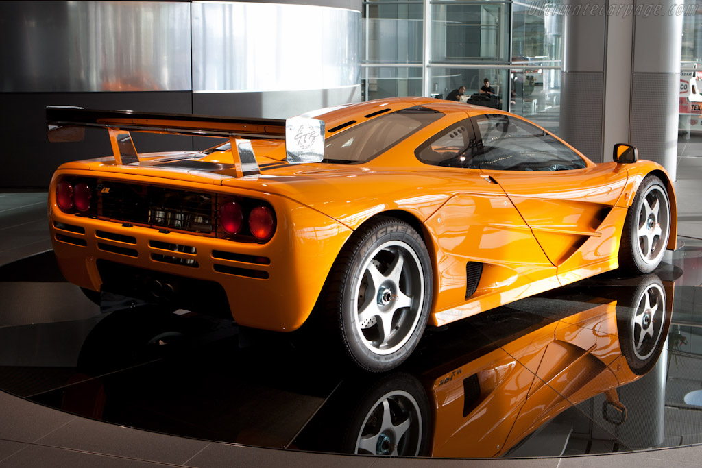 A Mclaren F1 >> McLaren F1 LM (s/n XP1 LM) High Resolution Image (4 of 12)