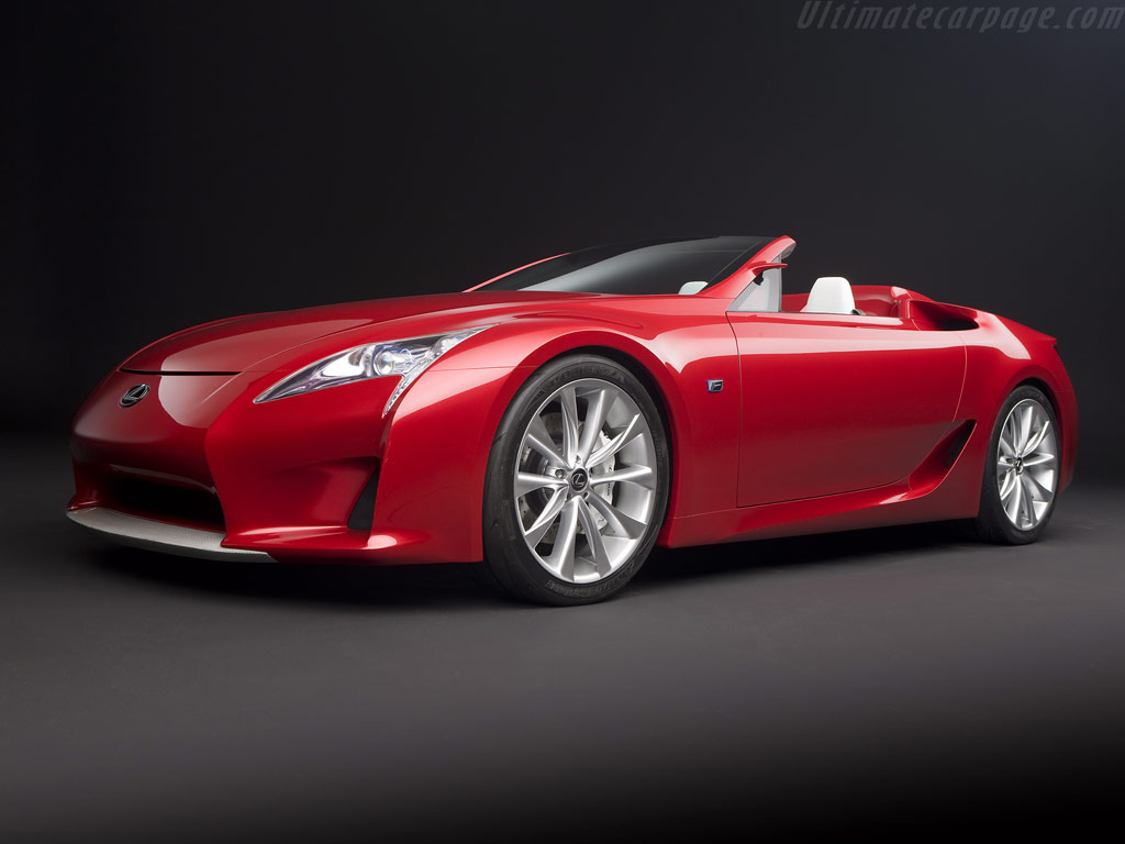 Lexus Lf A Roadster Concept High Resolution Image 2 Of 12