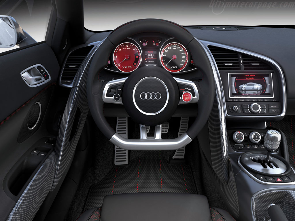 Audi R8 V12 Tdi Concept High Resolution Image 9 Of 12