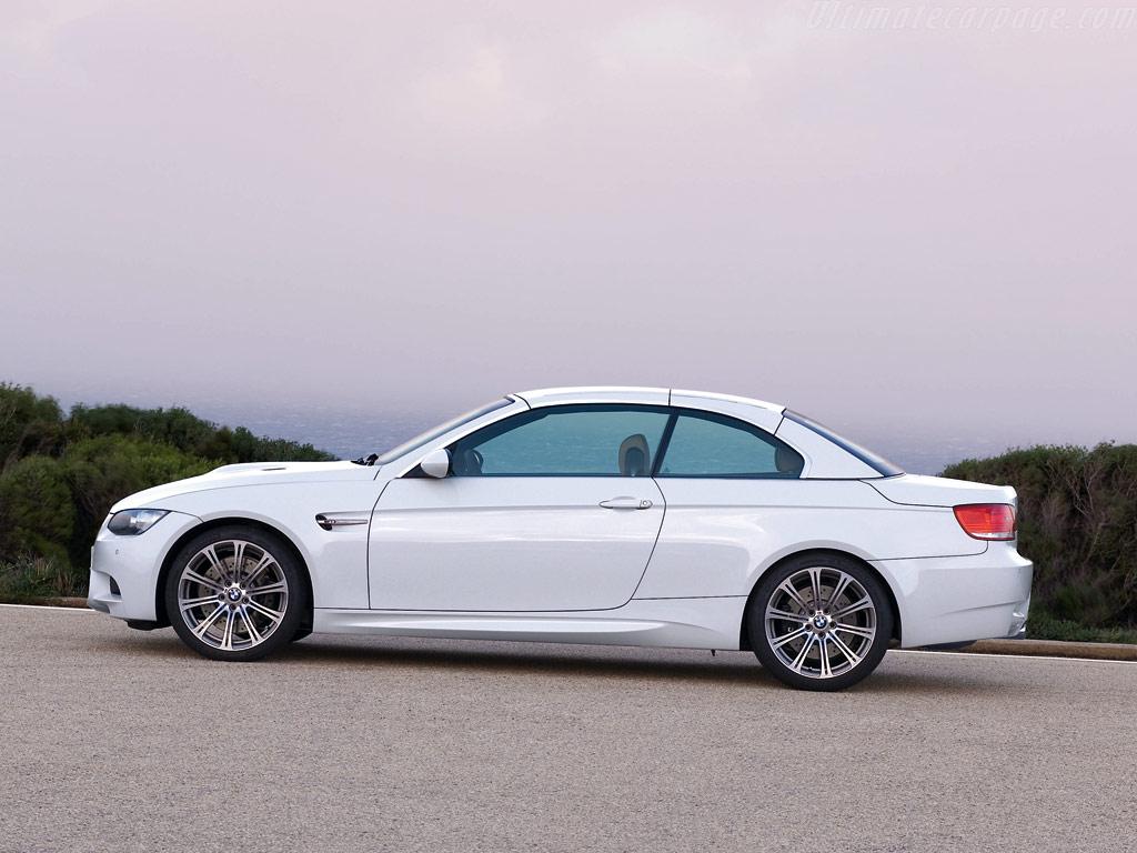 BMW M3 Convertible 2008.