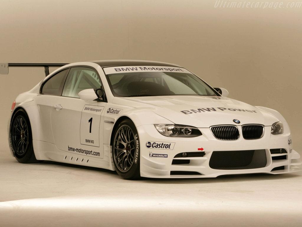 BMW E92 M3 GTR group GT2 (2009) - Racing Cars