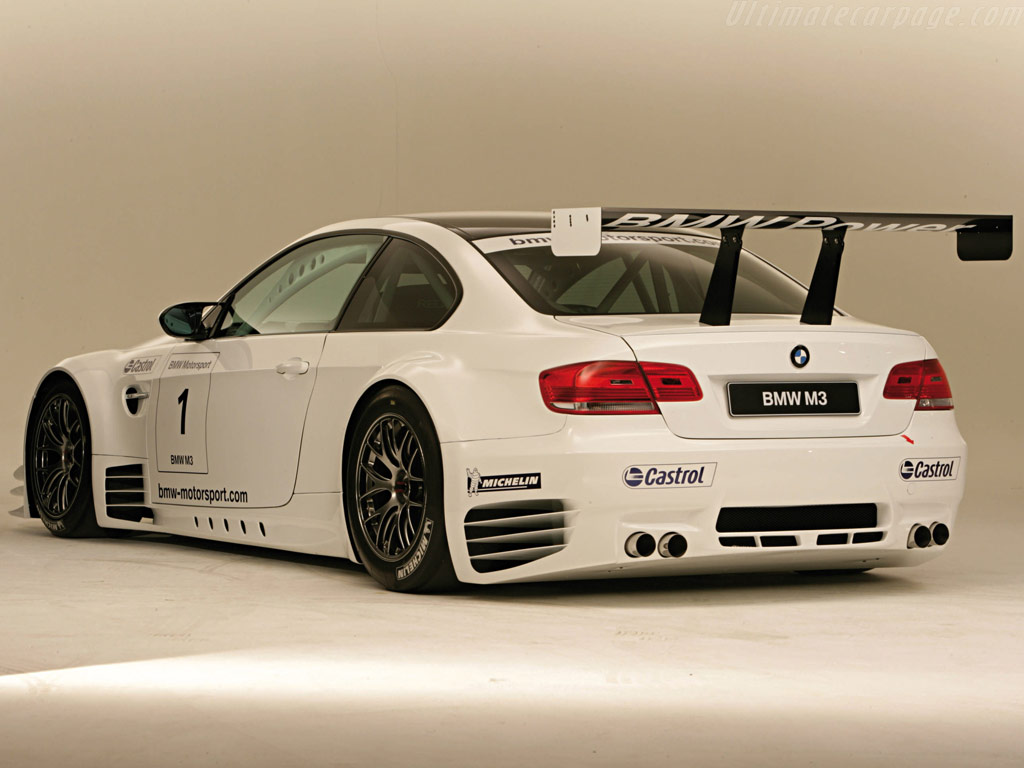Bmw E92 M3 Gtr Group Gt2 2009 Racing Cars