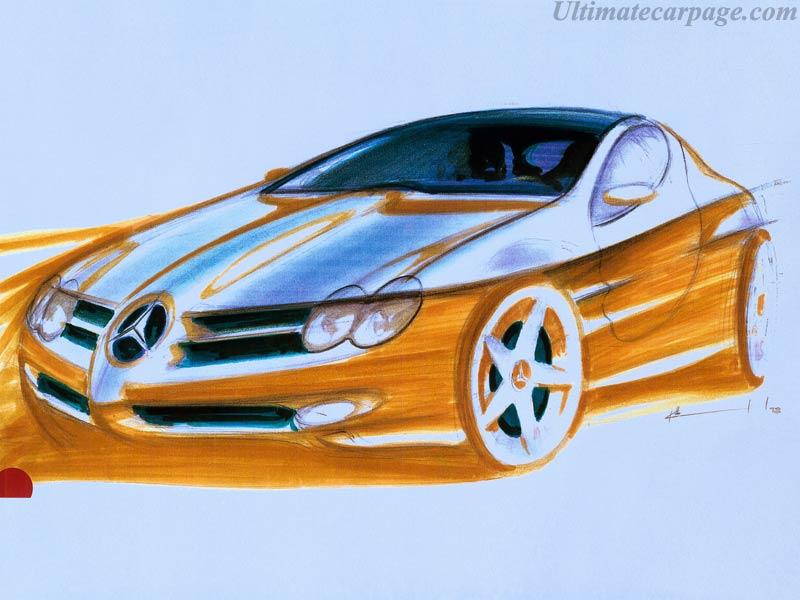 Mercedes-Benz Vision SLR High Resolution Image (8 of 8)