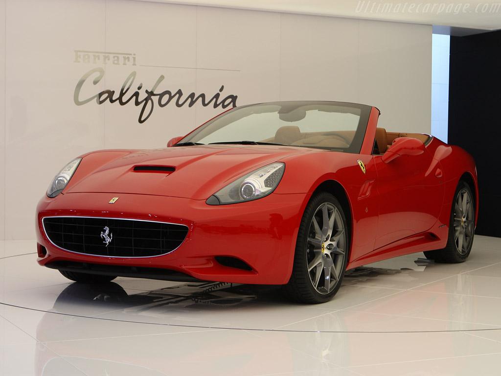 Virtual Ferrari California