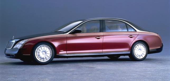 Mercedes-Benz Maybach Concept High Resolution Image (1 of 3)