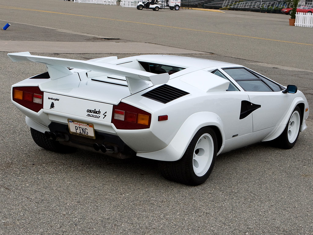 Lamborghini Countach Lp5000 S High Resolution Image 4 Of 6