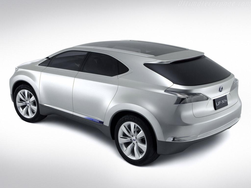 lexus hybrid concept car