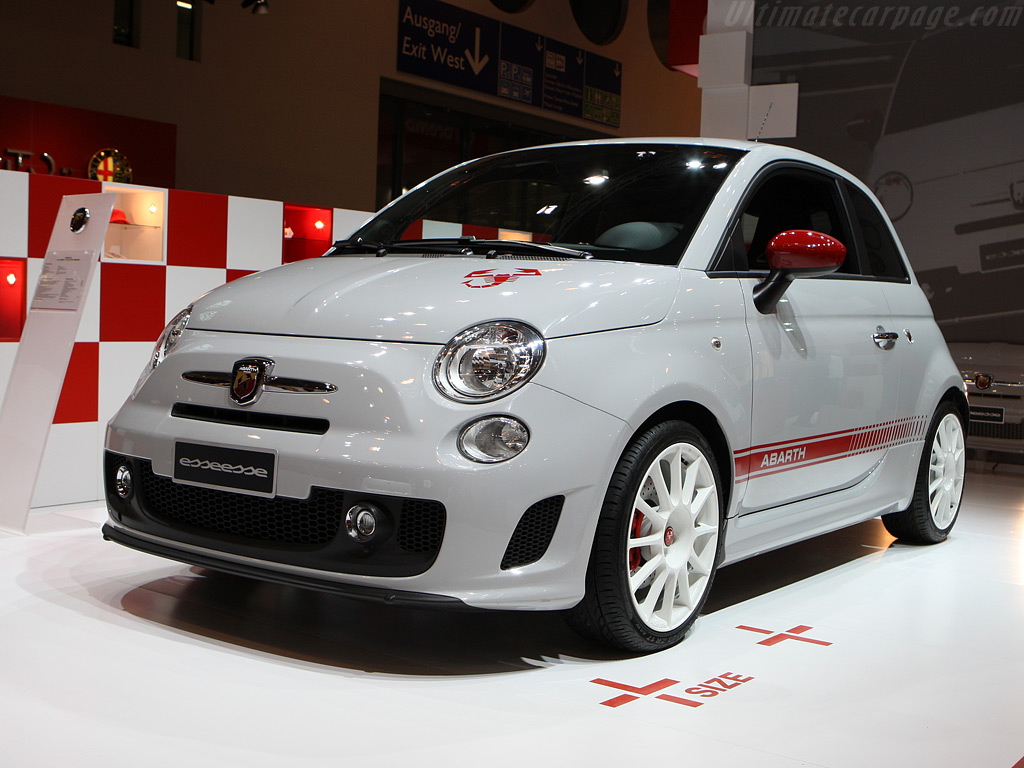 Fiat Abarth 500 Esseesse High Resolution Image 1 Of 12