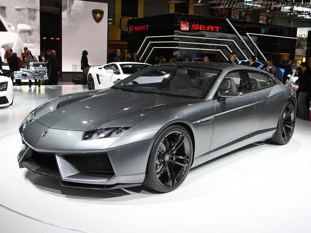 Lamborghini Estoque Concept High Resolution Image 1 Of 12