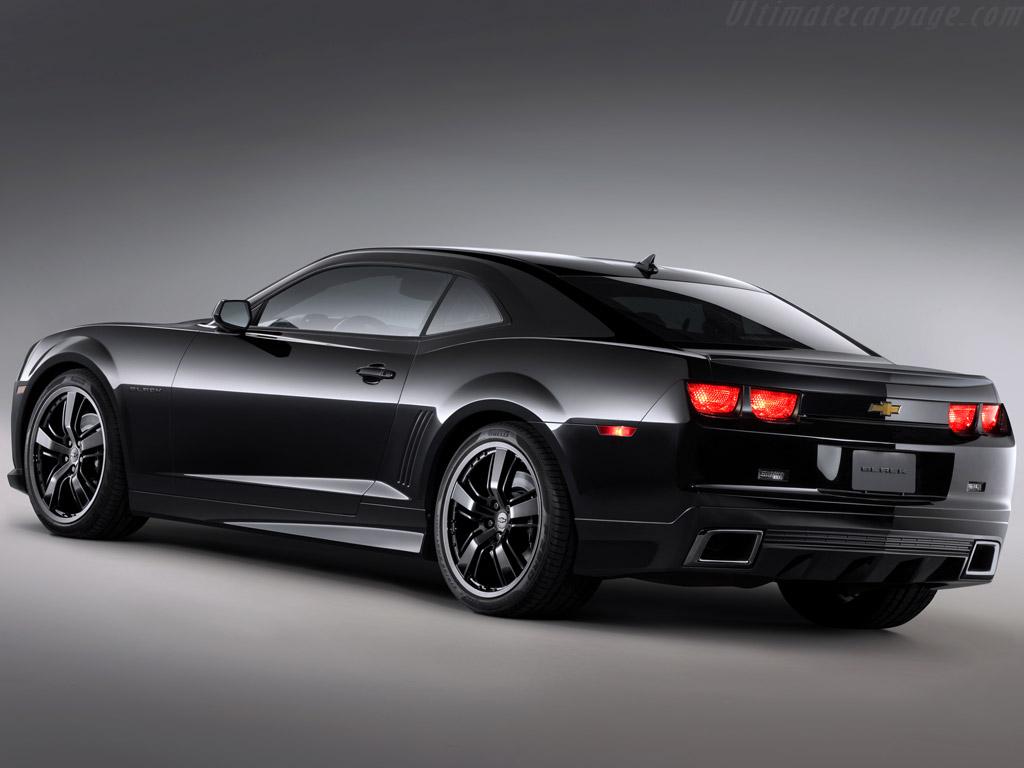 Chevrolet Camaro Black Concept High Resolution Image (2 of 2)