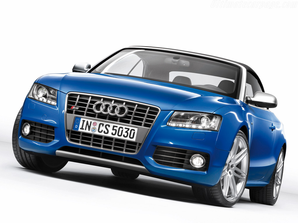 Audi S5 Cabriolet High Resolution Image (3 of 6)