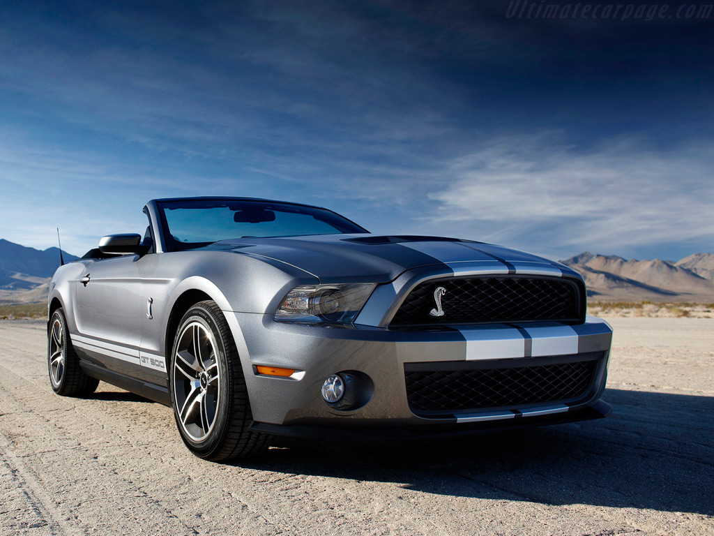 Ford Shelby Mustang Gt500 Convertible High Resolution