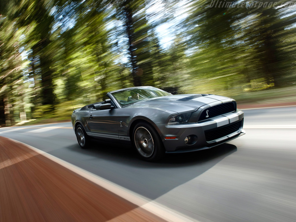 2018 Mustang Shelby Gt500 >> Ford Shelby Mustang GT500 Convertible High Resolution Image (3 of 6)