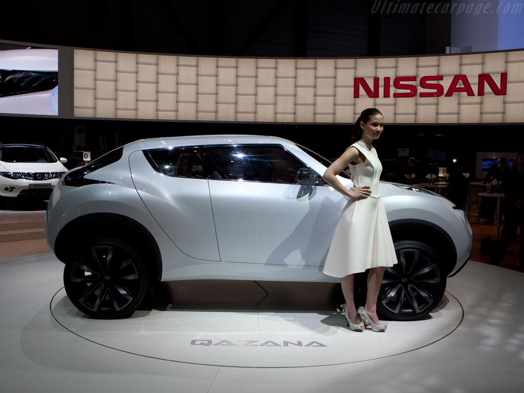 nissan qazana concept images de voitures. Black Bedroom Furniture Sets. Home Design Ideas