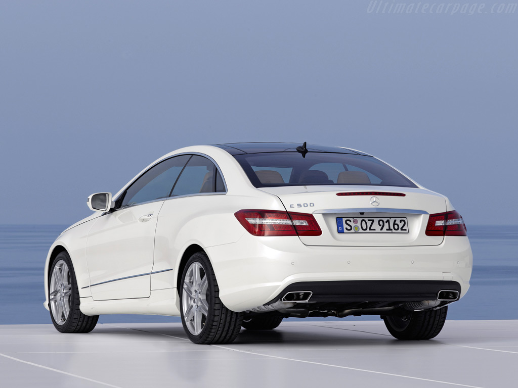 Mercedes E 500 Coupe CK50