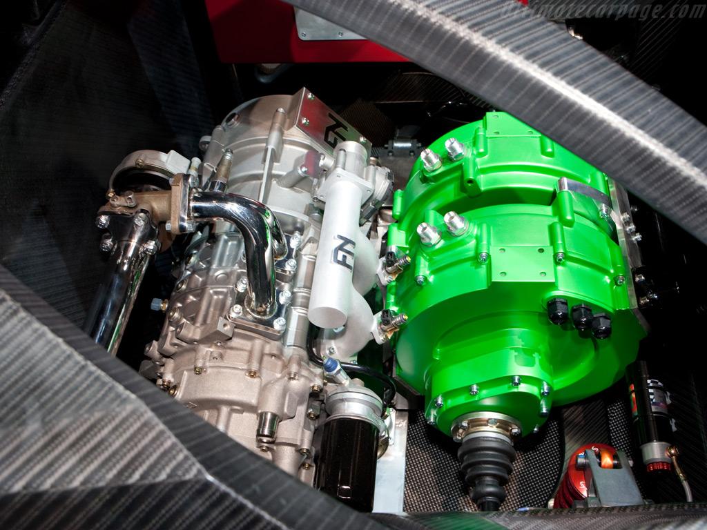 Namir Rotary Hybrid 817cc Twin Rotor Pp Turbo