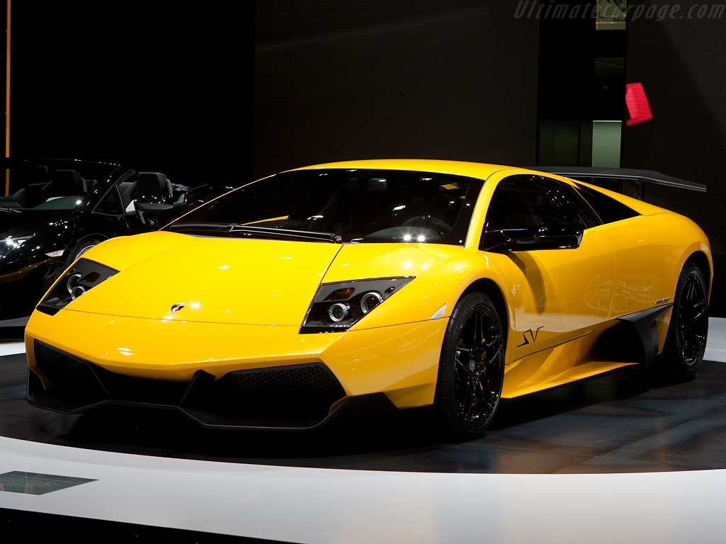Lamborghini Murcilago LP670 4 SV High Resolution Image 1