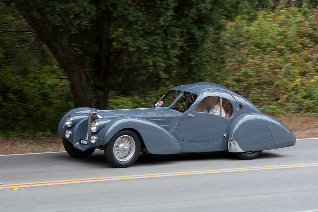 Bugatti Type 57 Sc Atlantic Coupe S N 57473 2010 Pebble