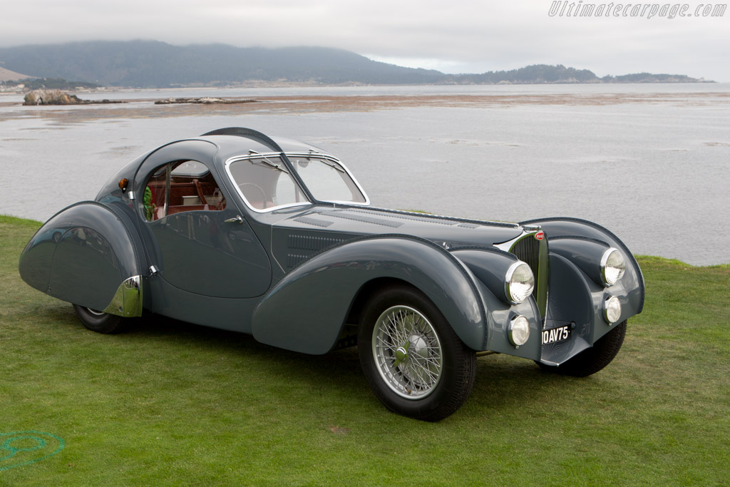 Concours D Elegance >> Bugatti Type 57 SC Atlantic Coupe (s/n 57473 - 2010 Pebble Beach Concours d'Elegance) High ...