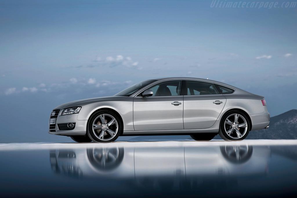 Audi A5 Sportback High Resolution Image (4 of 12)
