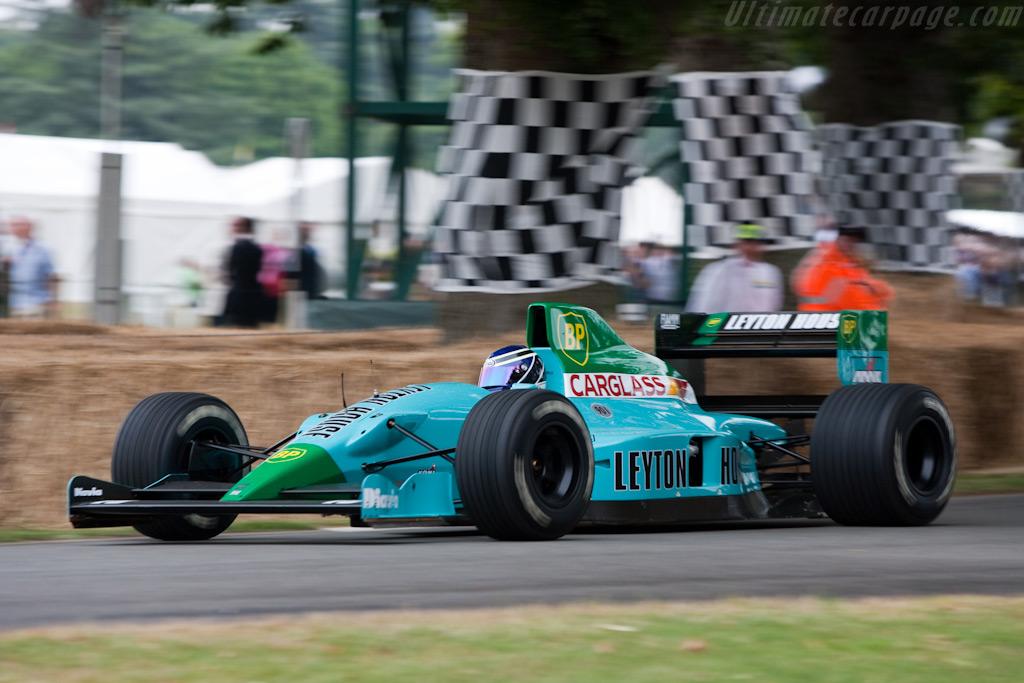Leyton House, equipe histórica de Formula 1 de 1991 - by f1technical.net