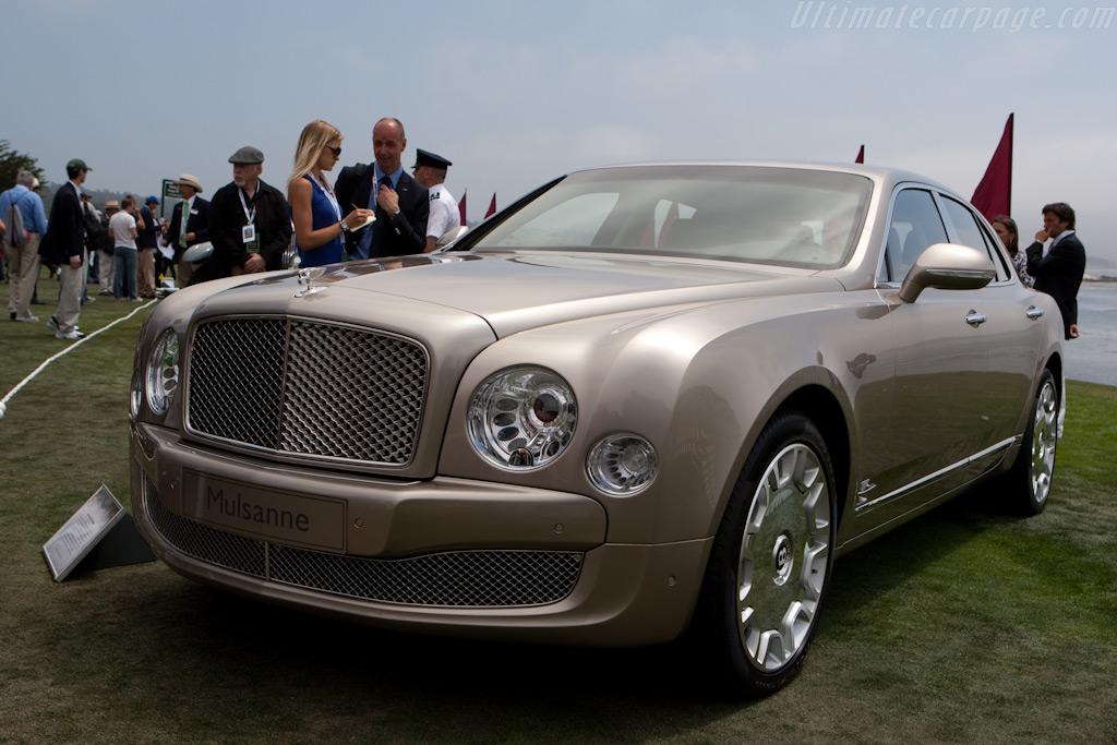 Bentley Mulsanne High Resolution Image 1 Of 6