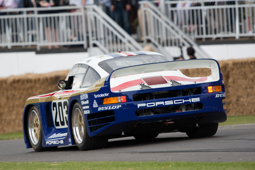 Porsche 961 S N 10016 2011 Goodwood Festival Of Speed