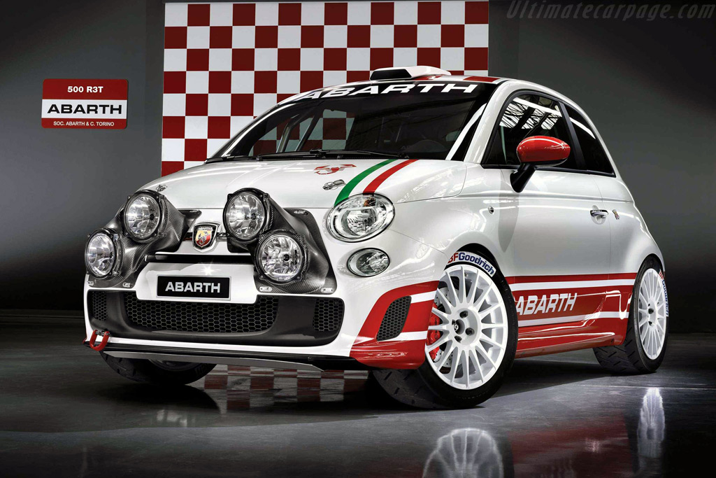 Fiat Abarth 500 R3t High Resolution Image 1 Of 2