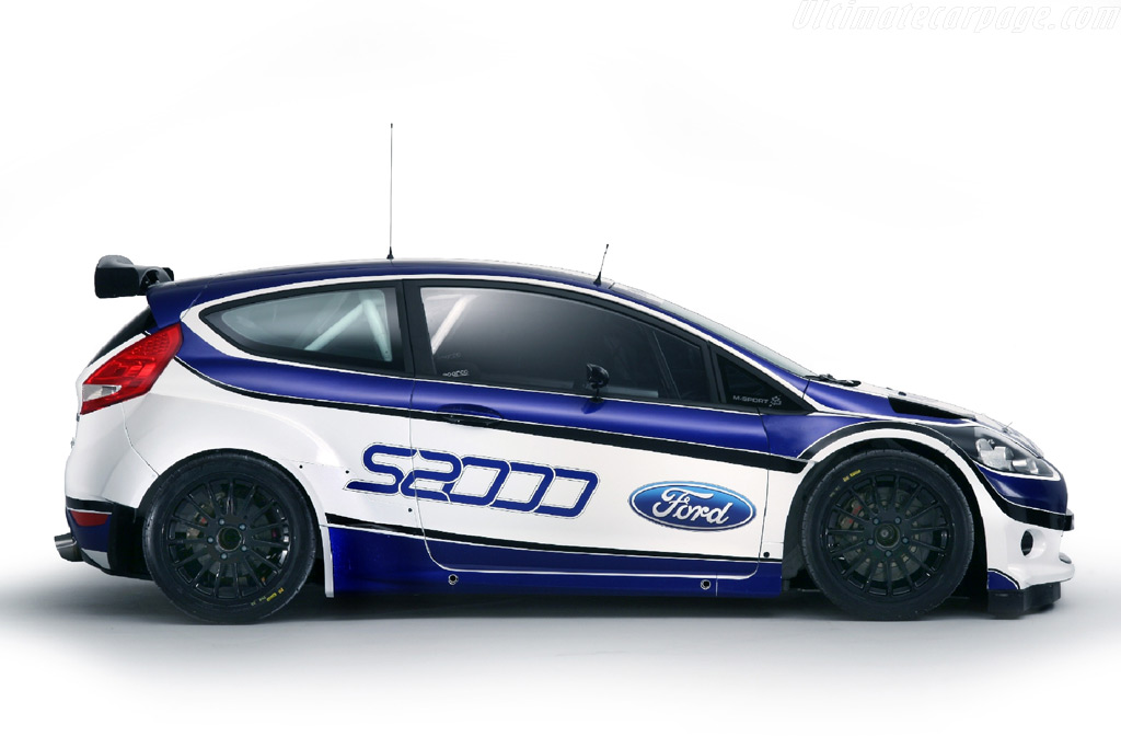 Ford Fiesta S2000 Rally car. - evolutionm.