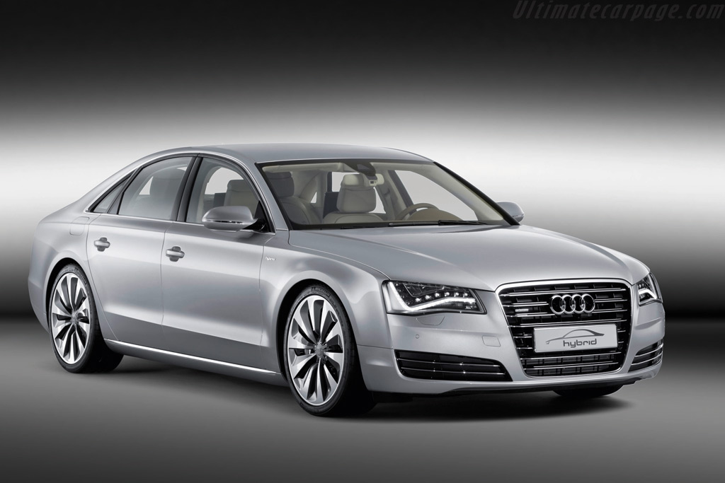 Audi A8 Hybrid Concept High Resolution Image 1 Of 6