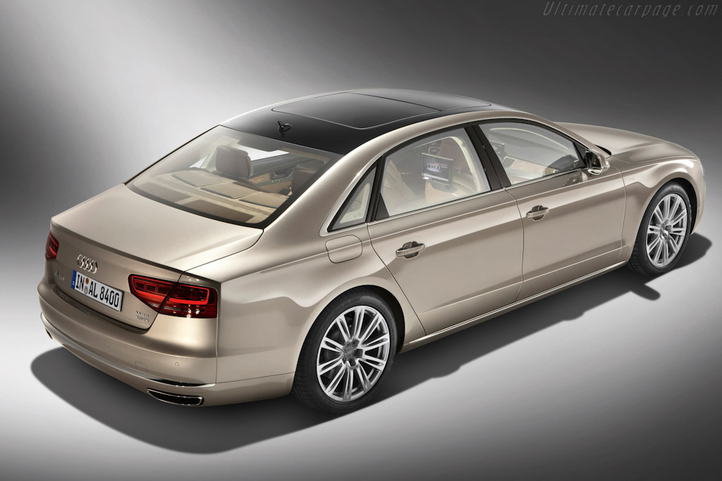 Audi A8 L W12 Quattro High Resolution Image 4 Of 6