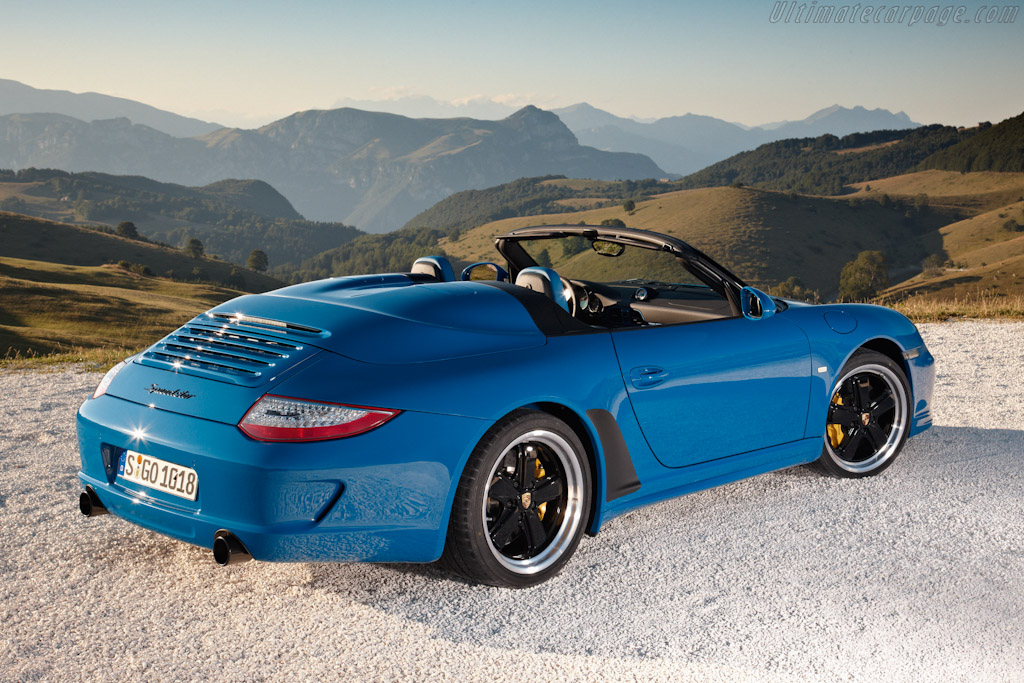 Porsche 997 Speedster High Resolution Image 3 Of 6