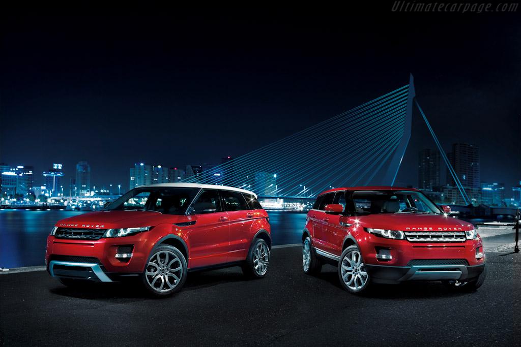 Land Rover Range Rover Evoque 5 Door High Resolution Image