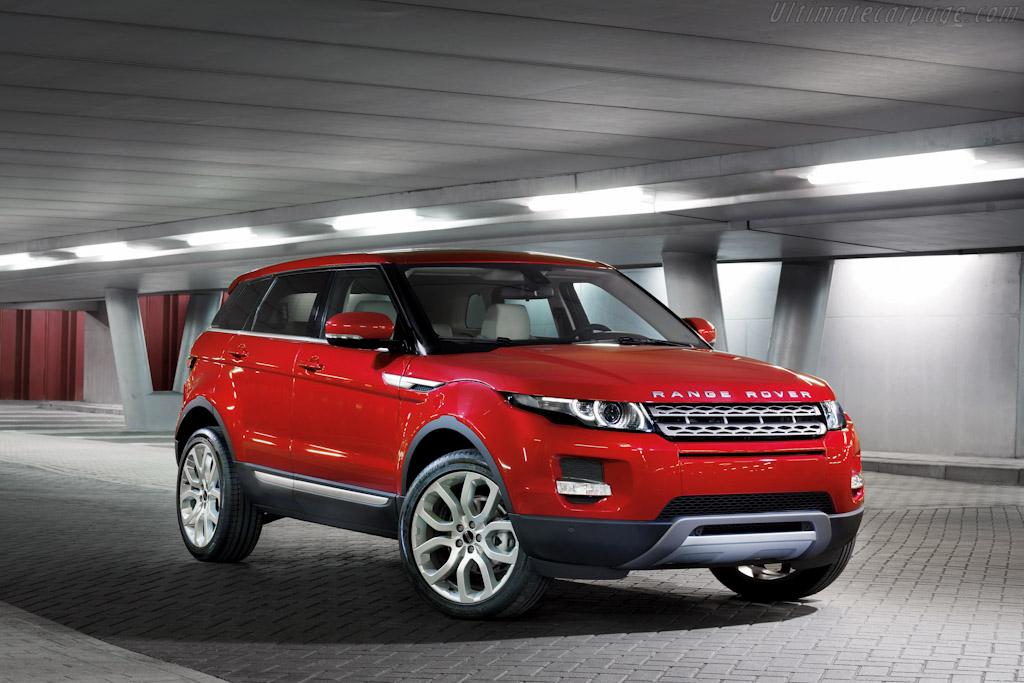 Land Rover Range Rover Evoque 5-Door High Resolution Image ...