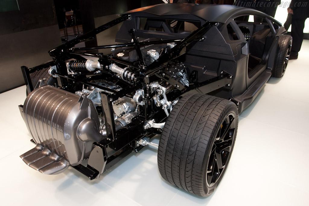 Lamborghini Aventador LP700 4 2011 Geneva