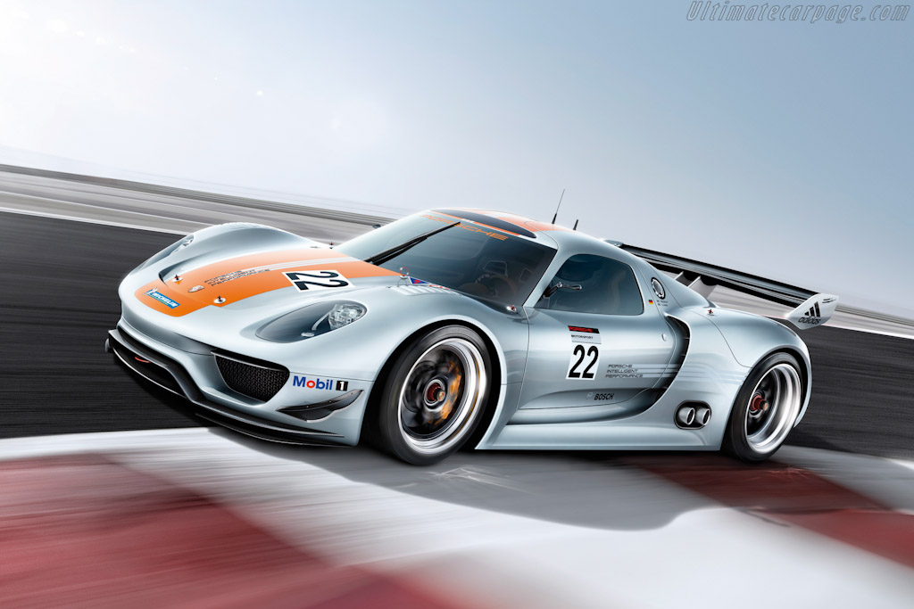 Porsche 918 Rsr Concept High Resolution Image 1 Of 12