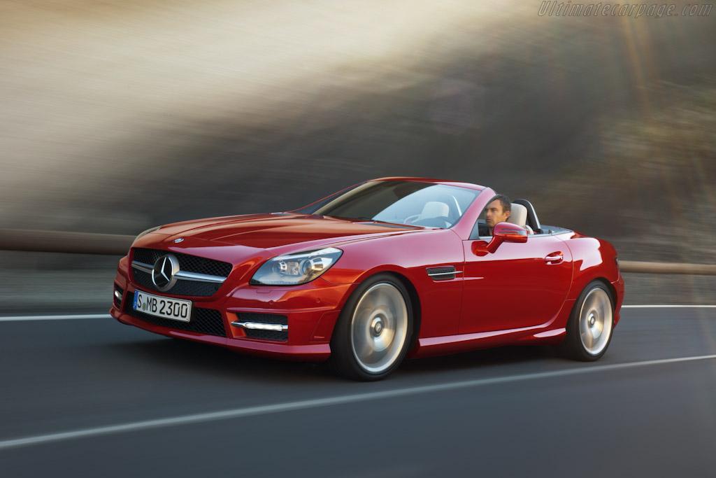 Mercedes Benz Slk 350 High Resolution Image 1 Of 6