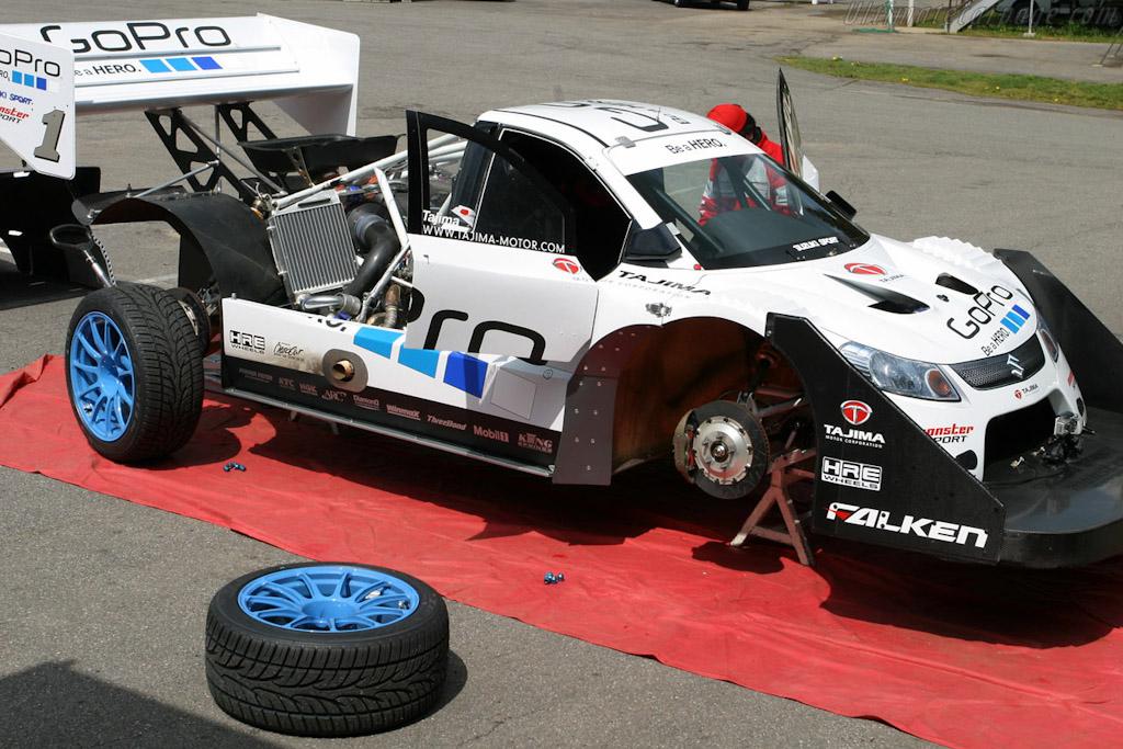 Suzuki Monster Sport Pikes Peak Special High Resolution Image