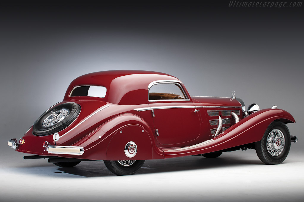 Mercedes-Benz 540 K Spezial Coupe High Resolution Image (3 of 6)